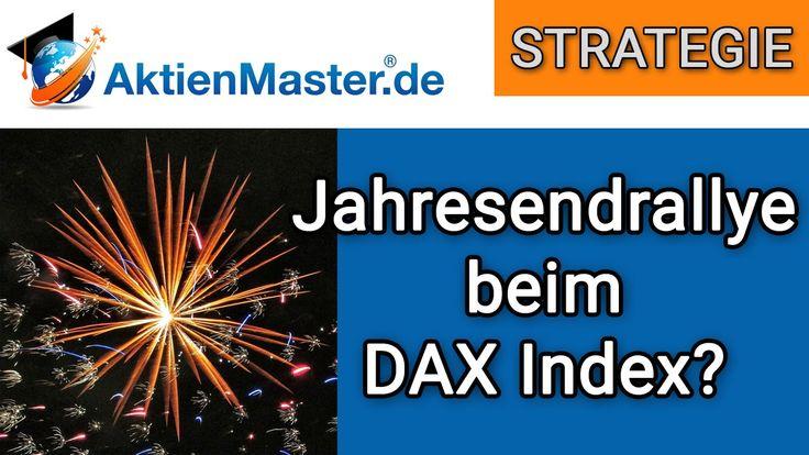 Am Dienstag hat der deutsche Aktienindex DAX 3% gewonnen. War das der Startschuss für die sogenannte Jahresendrallye? In diesem Video untersuchen wir, wie sich das Aktienbarometer DAX in den letzten 10 Jahren zu dieser Jahreszeit entwickelt hat.