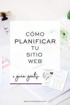 Cómo planificar tu sitio web + guía de trabajo. ¿Querés tener tu sitio web o renovarlo pero no sabés por donde empezar? Esta guía te llevara por los pasos más importantes para planificar y preparar toda la información necesaria para crear el sitio que tanto anhelás.