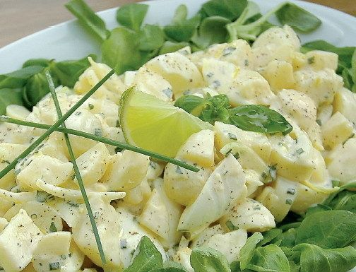 Babičkin zemiakový šalát