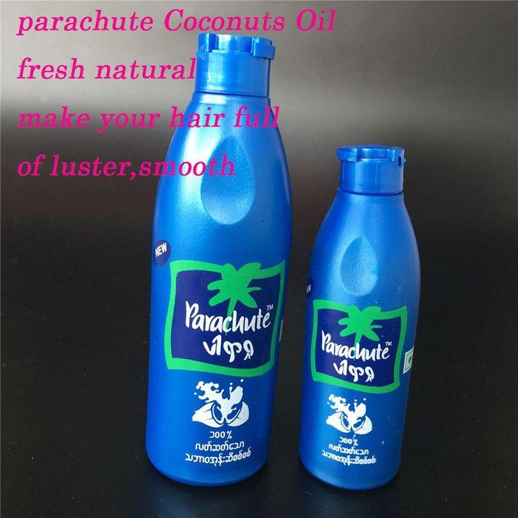 200ml Indian natural Virgin Parachute Coconuts Oil Carrier-Coconuts Extract Oil 100% Pure Coconuts Oil for  Hair Skin Care
