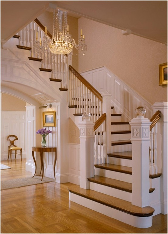 191 best entry foyer stairs french country for Foyer staircase ideas