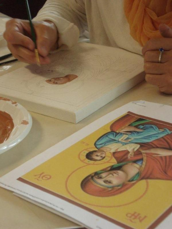 Icon Painting Intensive https://www.bhaktimarga.org/events/icon-intensive