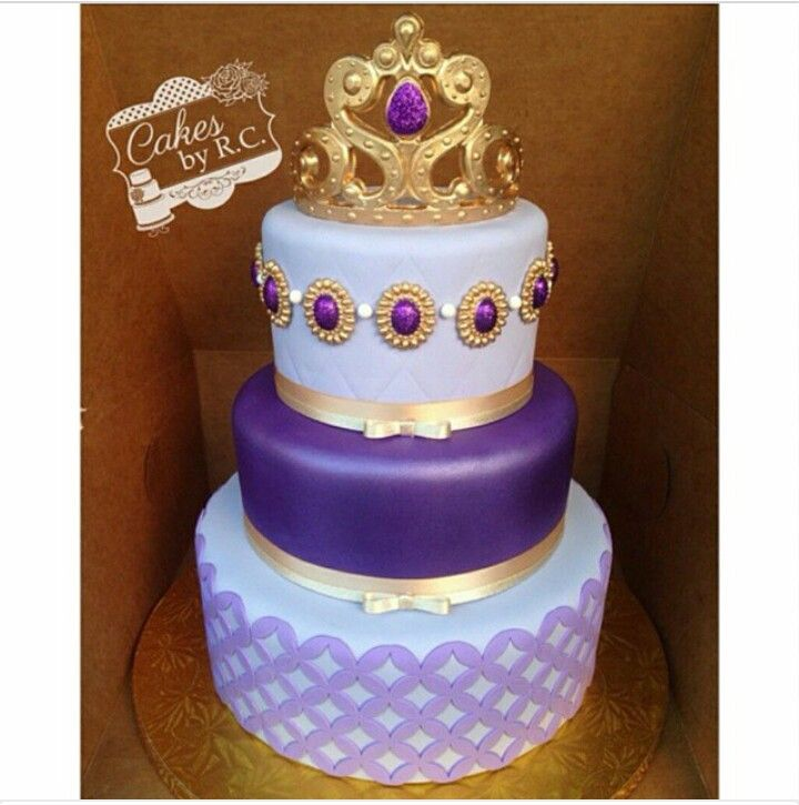 25 Best Ideas About Sofia The First Cake On Pinterest