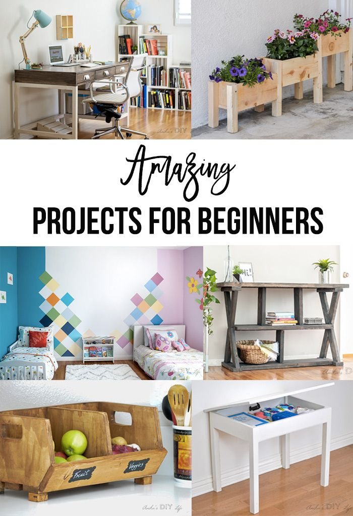 Best Diy Projects Of 2017 Your Top 10 Favorites Cool Diy Projects Beginner Woodworking Projects Diy Pallet