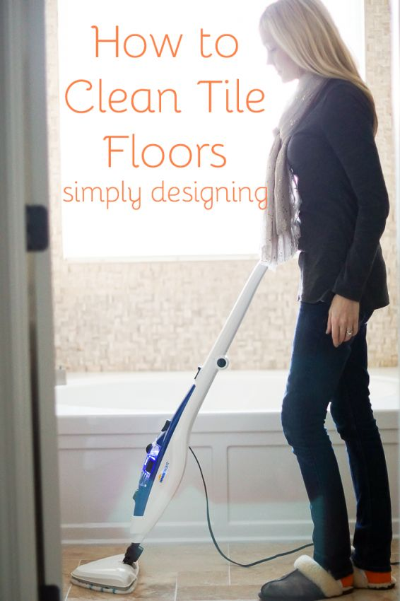How to Clean Tile Floors with Simply Designing