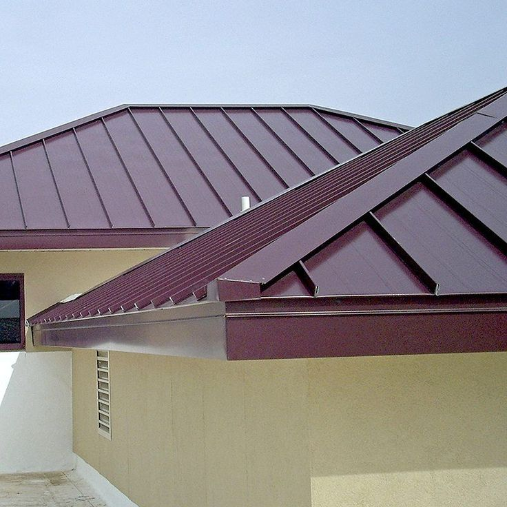 See metal roofing here 17390 pinterest for Metal hip roof
