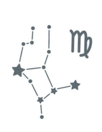best 25 virgo constellation tattoo ideas on pinterest