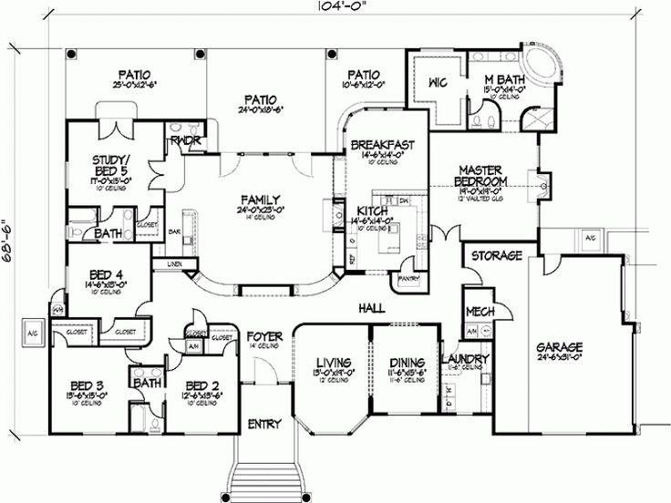 5 bedroom plans