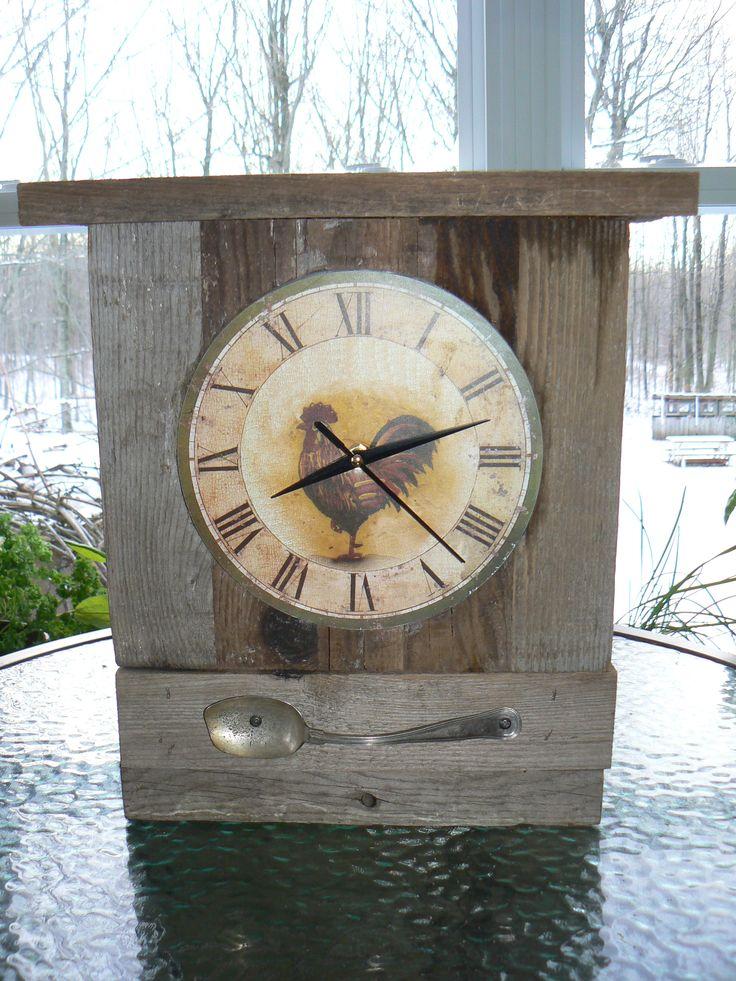 Horloge coq