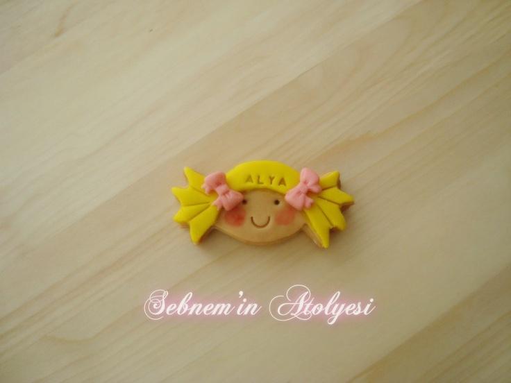 Şeker kız kurabiye :)