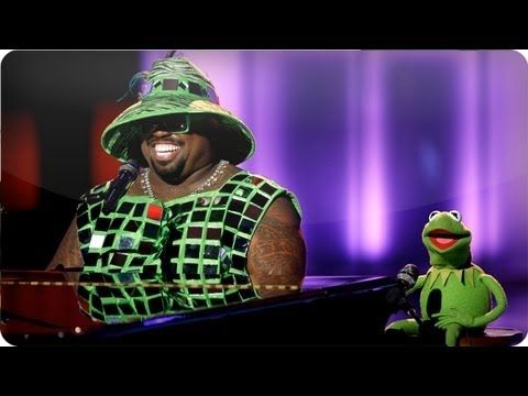 """CeeLo and Kermit: """"Bein' Green"""" - #TheVoice"""