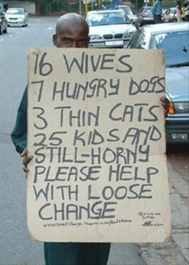 Dump A Day They're Homeless, Not Humorless - 17 Pics
