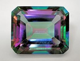 Mystic Topaz- my second choice for engagement stone, first choice for wedding band