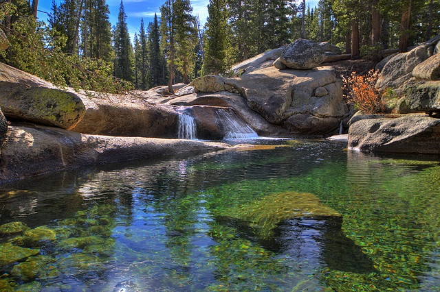Beautiful Tuolumne River in the Yosemite backcountry!