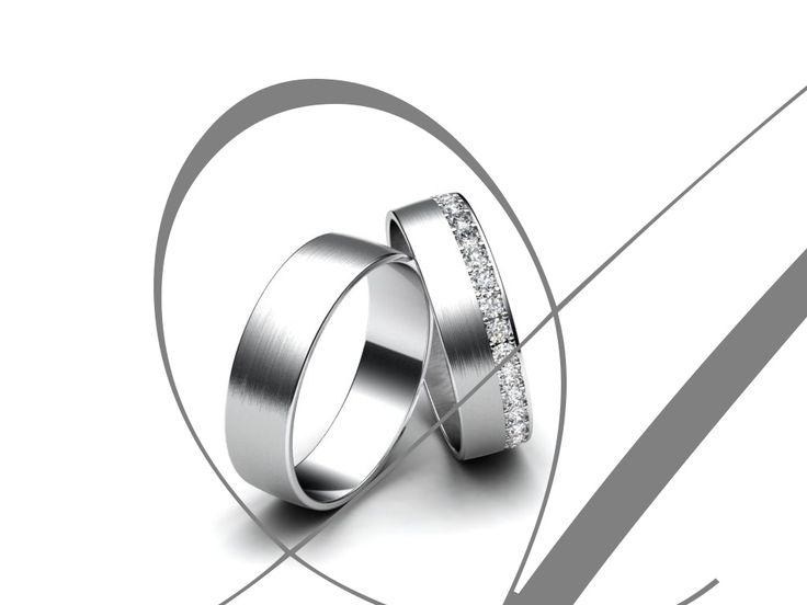 Aiola Snubní prsteny A45