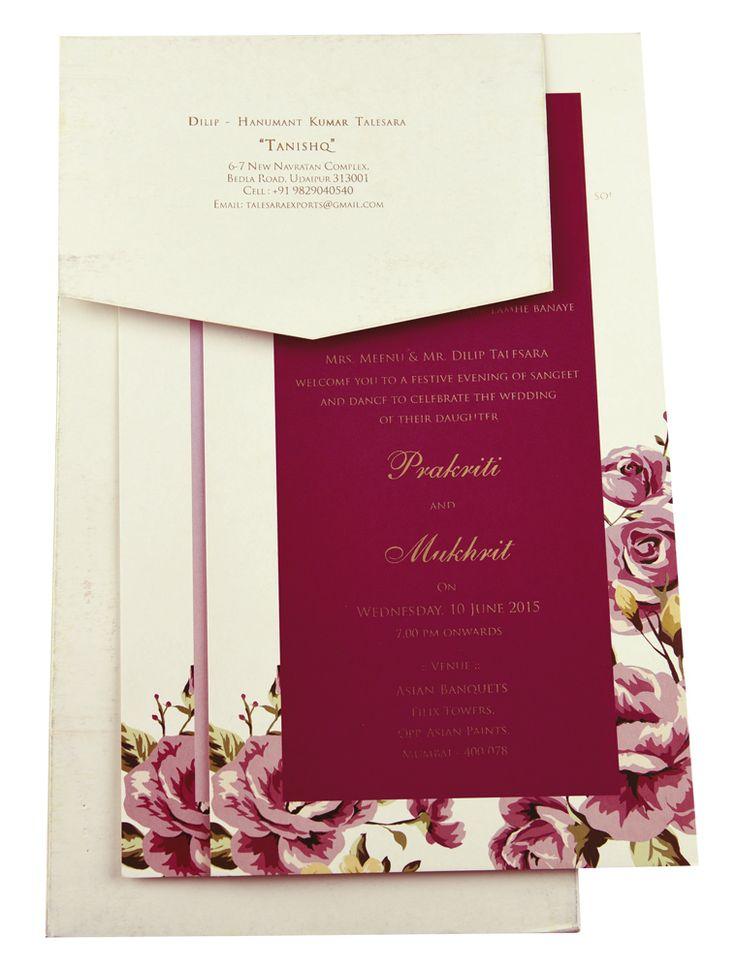 wedding invitation templates in telugu%0A IWMD    White Color  Designer Multifaith Invitations