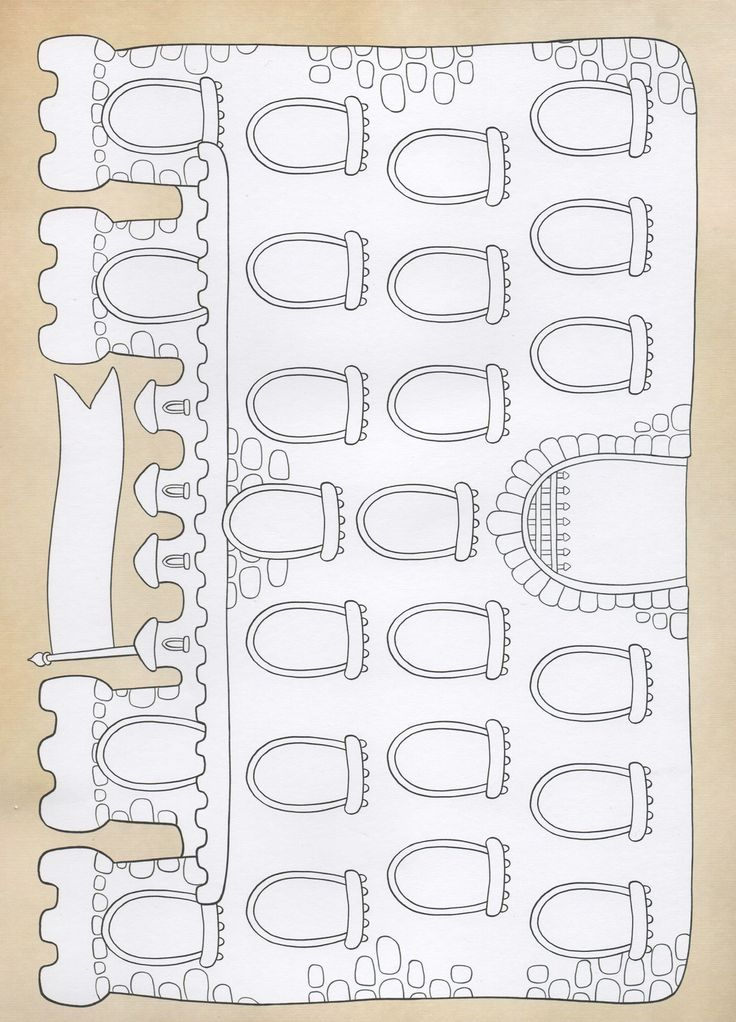 A castle template for games
