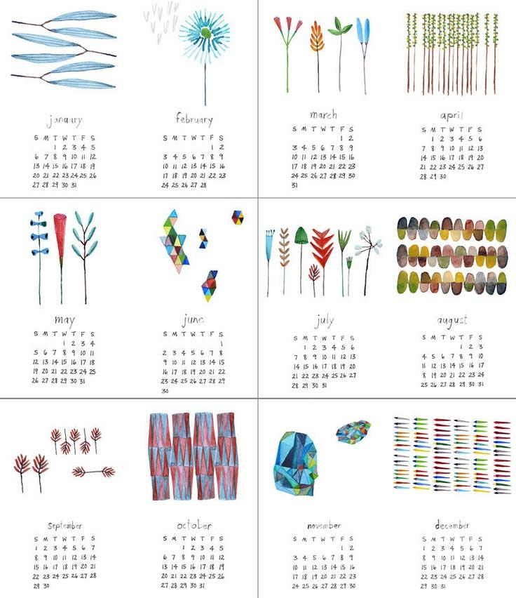 .calendrier 2013
