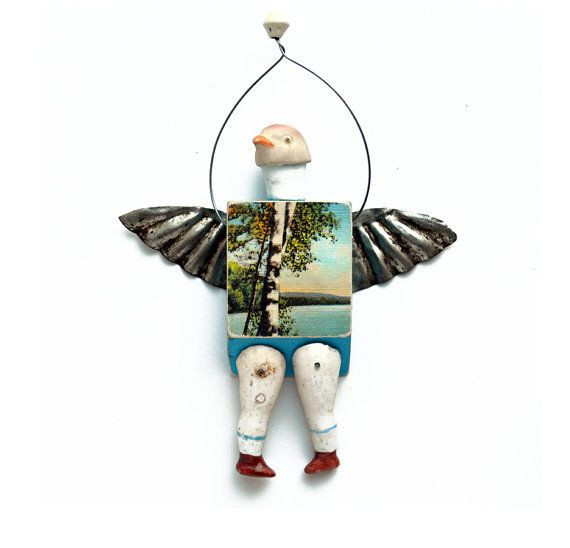 PIGEON TOED 3 original art doll German bisque by ElizabethRosenArt