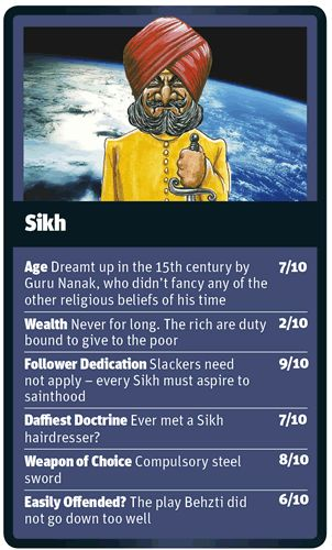God Trumps Sikh card