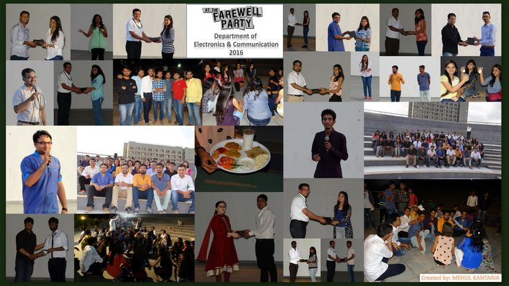 Goodbyes are not forever  Goodbyes are not the end It simply means we will miss you  Until we meet again!! A farewell party for Electronics and Communication students!!!  Thank you for all the bundle of memories. ‪#‎ECBatch‬ ‪#‎Farewell‬ ‪#‎Missing‬ ‪#‎MarwadiEducation‬ ‪#‎Rajkot‬ ===== http://marwadiuniversity.in/ ======