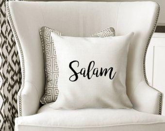 Salam cushion/Islamic home decor