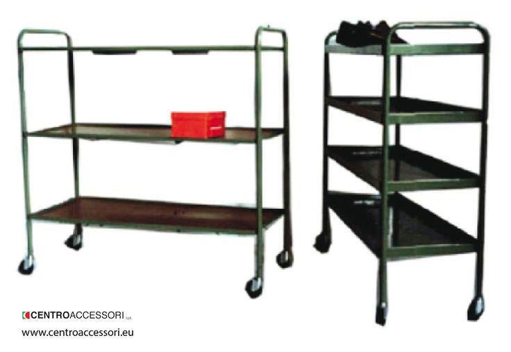 Carrello. Trolley for shoes #CentroAccessori