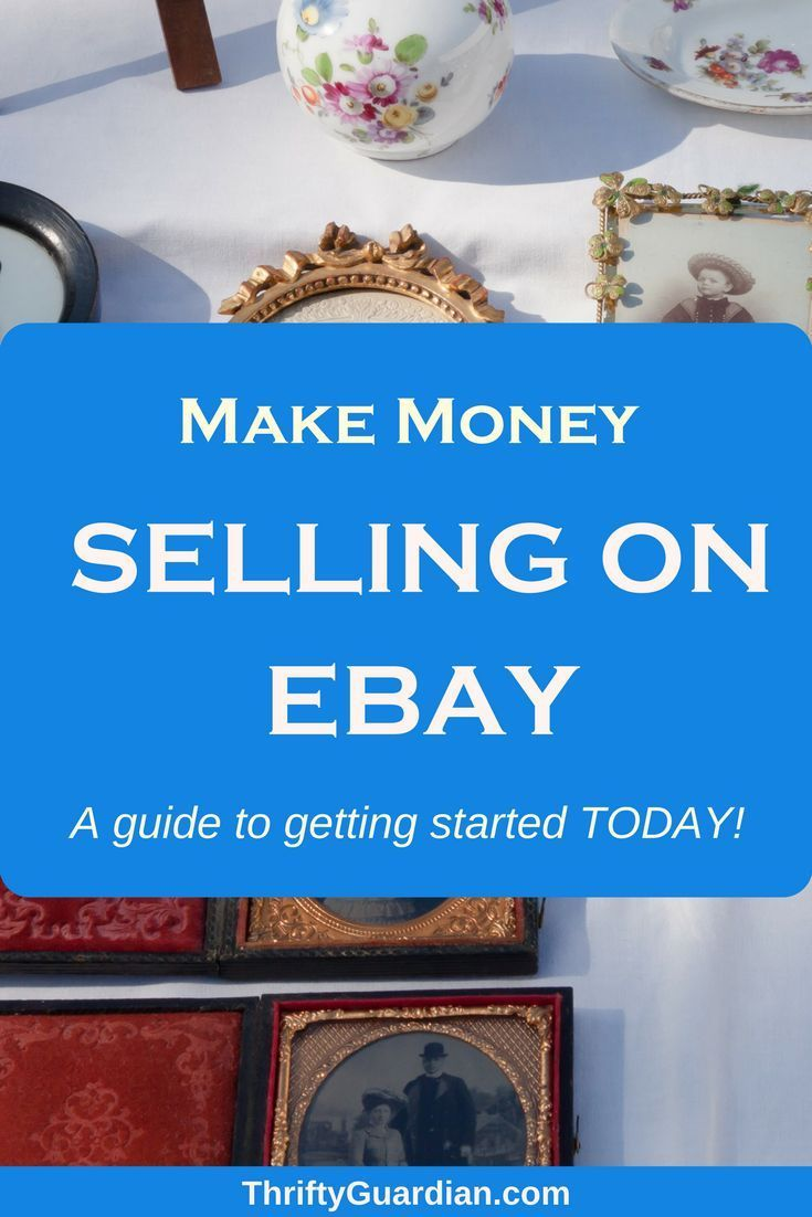Making Money Through EBay – starting a small business