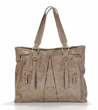 Dawn Taupe Diaper Bag by Timi & Leslie - (On sale for 15% off. See coupon below)