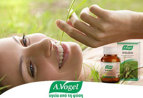 A.Vogel Urticalcin, με εκχύλισμα τσουκνίδας φρέσκιας συγκομιδής. Είναι προϊόν ομοιοπαθητικής σύνθεσης και χορηγείται για την αντιμετώπιση διαταραχών του μεταβολισμού των αλάτων, παραγωγής μάζας των οστών και δοντιών, καθώς και σε περιπτώσεις έλλειψης ασβεστίου (πχ. κατά τη διάρκεια κύησης και θηλασμού).  Ενδείκνυται η χρήση του και στην παιδική ηλικία για την προαγωγή παραγωγής μάζας οστού και σχηματισμό δοντιών στην ανάπτυξη.  http://www.avogel.gr/product-finder/avogel/urticalcin_tabs.php