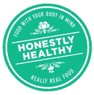 Honestly Healthy Packaging Sticker