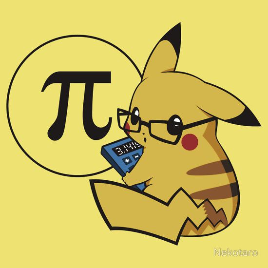 Pi-kachu! (v2.1(with shadows and glasses without lenses) T-Shirts & Hoodies by Nekotaro   Redbubble)☺️