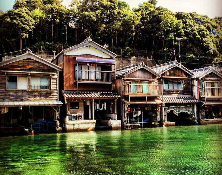 If you're looking for a spectacular tourist destination without all the tourists, you'll want to visit Kyoto's sleepy little fishing town that floats on the sea.