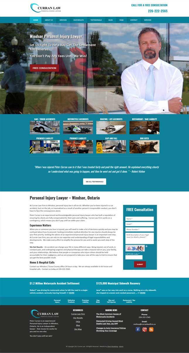 Curran Law - personal injury lawyer