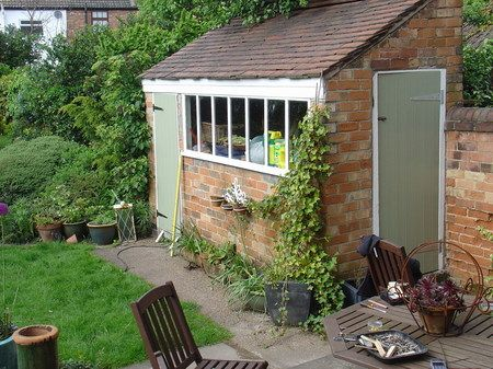 17 best images about kerb appeal on pinterest gardens for Brick garden shed designs