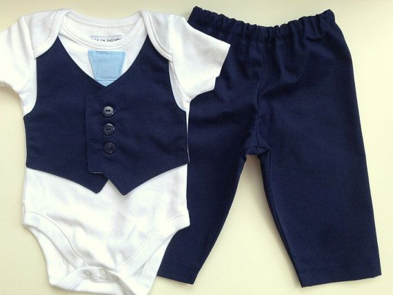 Navy Baby Boy Clothes Suit Babies Wedding Outfit Page