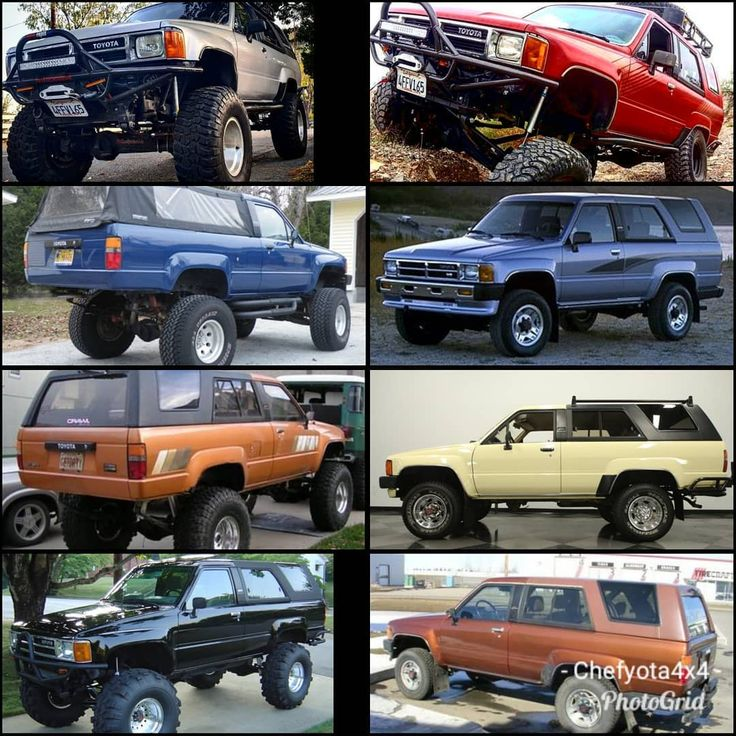 This isn't including bright white or another medium blue they had or the brick red a couple others... I just found it interesting that they never really did much with green in the first gen 4Runner Realm..... . Send your pic or video to @trailbound4x4 of your ANY MAKE OR MODEL trucks with a description of the trail or outing from Hawaii to Australia for a chance to get featured... let's see what each other are doing around the globe! For more awesome follows if you are into #4wd…