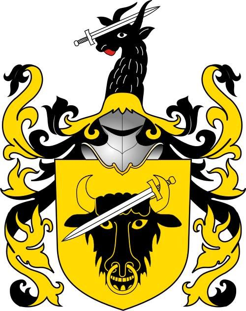 Coat of arms Pomian of polish noble family, medieval version.  -  https://www.facebook.com/photo.php?fbid=1474909762781247