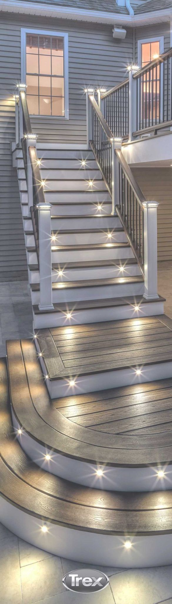 Elegant Exterior Stairwell Decoration For Your Home | Delightful for you to the website, in this particular occasion I will teach you regarding Elegan...