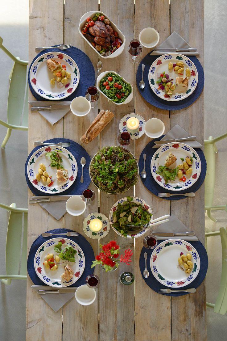 Dek je tafel naar je persoonlijke stijl door middel van mix & match. Mix bijvoorbeeld het servies van Boerenbont eens met het servies van Color Your World (CYW).