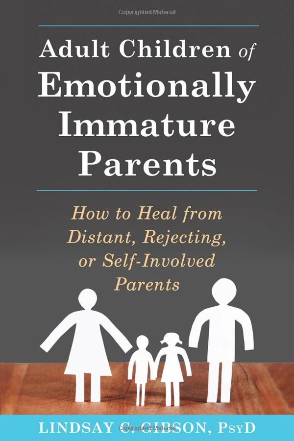 If you grew up with an emotionally immature, unavailable, or selfish parent, you may have lingering feelings of anger, loneliness, betrayal, or abandonment. You may recall your childhood as a time when your emotional needs were not met, when your feelings were dismissed, or when you took on adult levels of responsibility in an effort to compensate for your parent's behavior. These wounds can be healed, and you can move forward in your life.