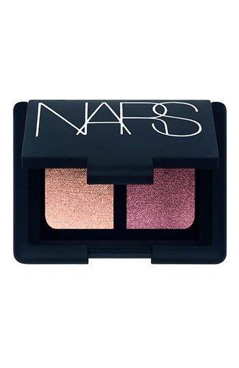 NARS Duo Eyeshadow Kuala Lumpur. Had this exact same shadow used on me for a photo shoot. I love it! It's an amazing pop for blue eyes!