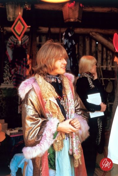 The Rolling Stones: Brian Jones ( probably taken at the Monterey Pop Festival...? )