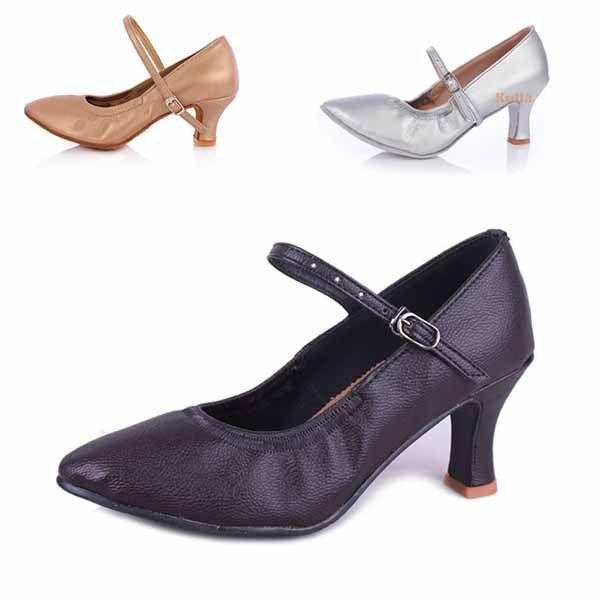 Новое поступление горячая распродажа оптовая продажа новое женщин современный бальный зал латинской танго обувь на каблуках сальса 3 цвет