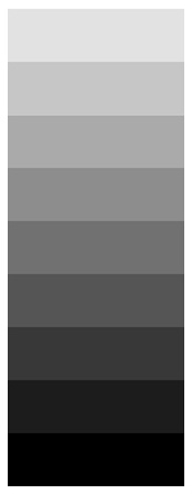 Gray scale (9)--we did a painted 13 step grey scale and it was probably the toughest project
