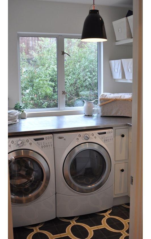 Laundry room idea-Home and Garden Design Ideas