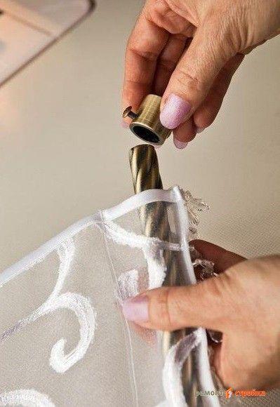 Как сшить занавески своими руками