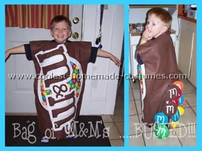 how to make a 3 musketeers candy bar costume