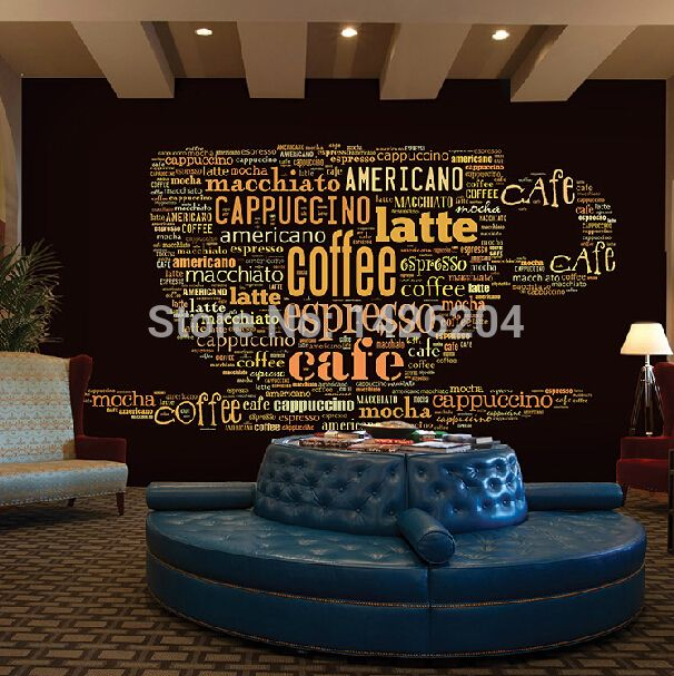 25 best ideas about coffee shop design on pinterest for Mural coffee shop