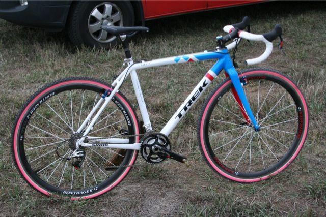Custom Trek Cyclocross: Katie Compton